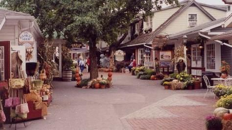Stop for some shopping at Kitchen Kettle Village