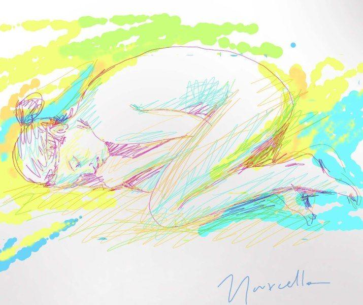 love me true - digital art - Marcello Dellova - 2012