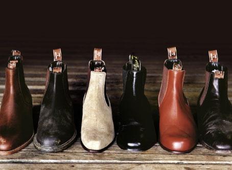 R. M. Williams boots.