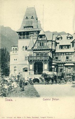 Sinaia – Pelisor - 1907