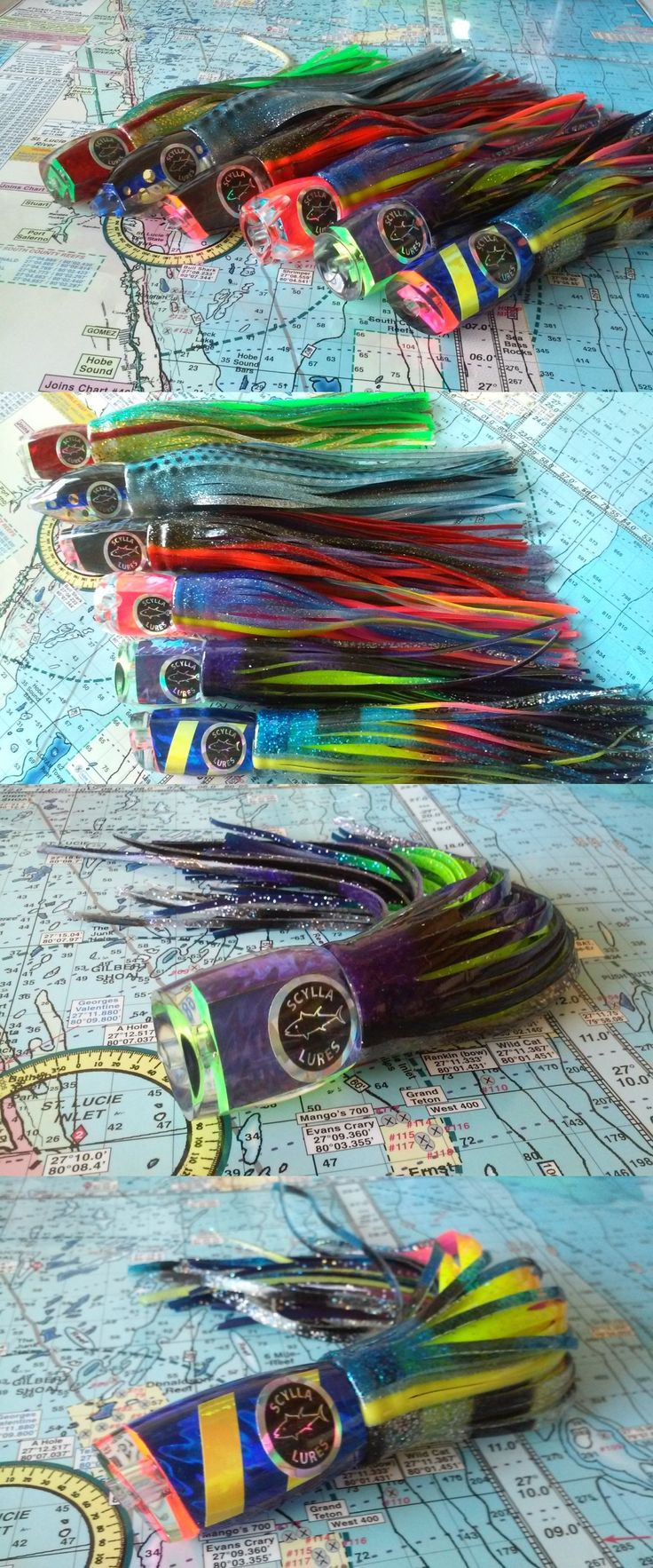 Saltwater Lures 36153: Saltwater Fishing Lures Big Game Lures Trolling Lures Offshore Tackle Marlin -> BUY IT NOW ONLY: $225 on eBay!