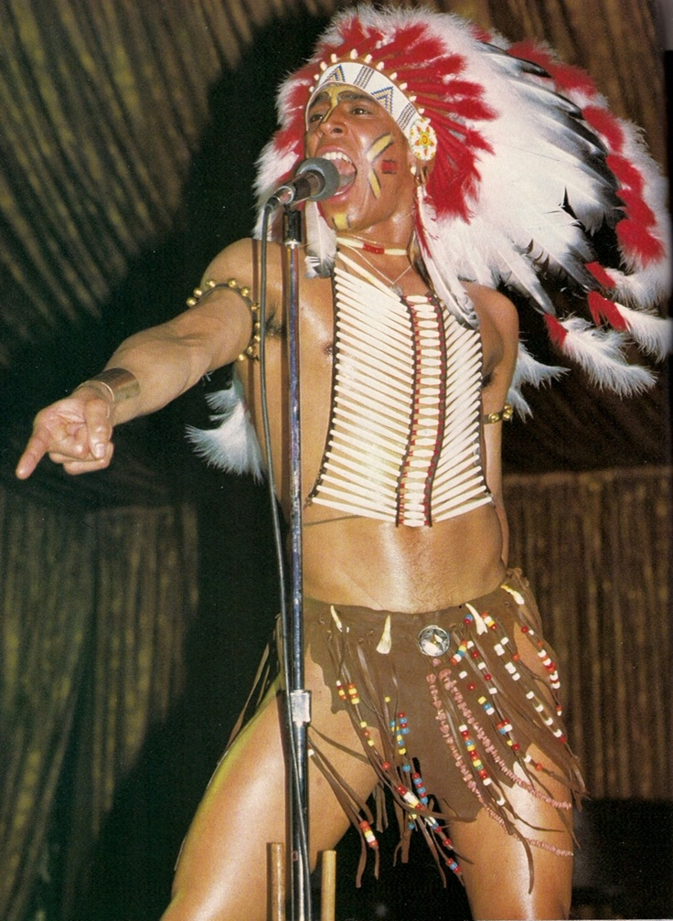 Village People's Felipe Rose - another reason I love The 70s.