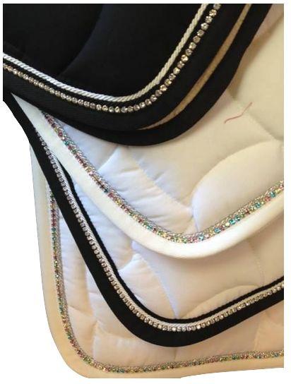 Crystal Saddle Pad ❤️ StyleMyRide.net @SMRequestrian #stylemyride #fashion