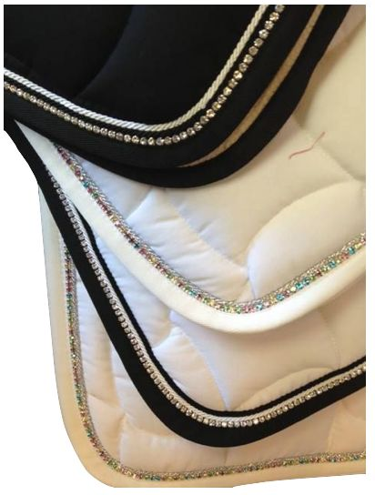 Crystal Saddle Pad ❤️ StyleMyRide.net @SMRequestrian #stylemyride #fashion