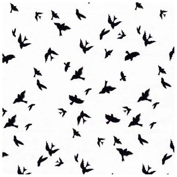 Tissu Flight White x 10cm