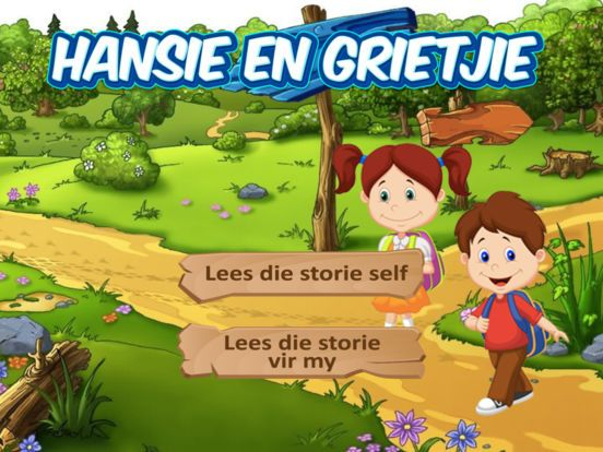 Hansie en Grietjie Kinderstorie in Afrikaans  Google Play Store : https://goo.gl/XGrh6Z iPhone & iPad : https://goo.gl/ycBgpL YouTube : https://youtu.be/RT8b9YugEFA