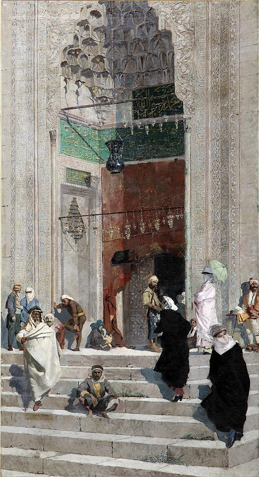 Osman Hamdi Bey | Cami Önü