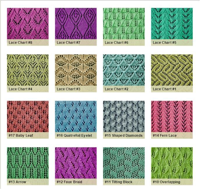 87 Best Knitting Stitch Compendium Images On Pinterest Knitting