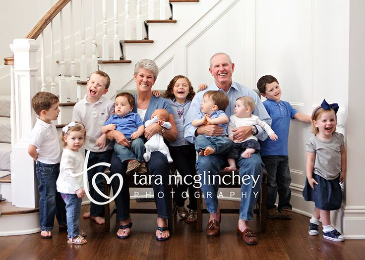 Large Extended Family Photography Ideas