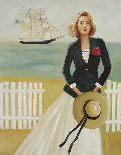 """Victoria Was A Sporting Woman"" by Janet Hill"