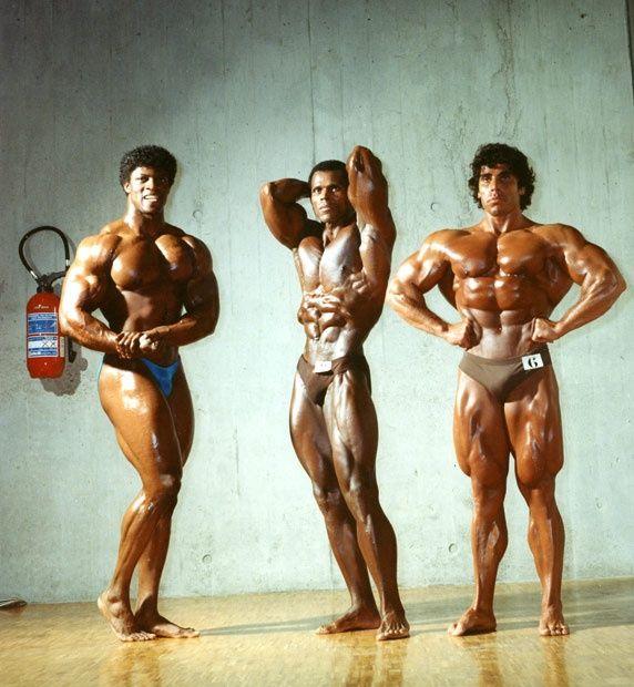 Wow John Brown, Serge Nubret, and Eduardo Kawak (1983