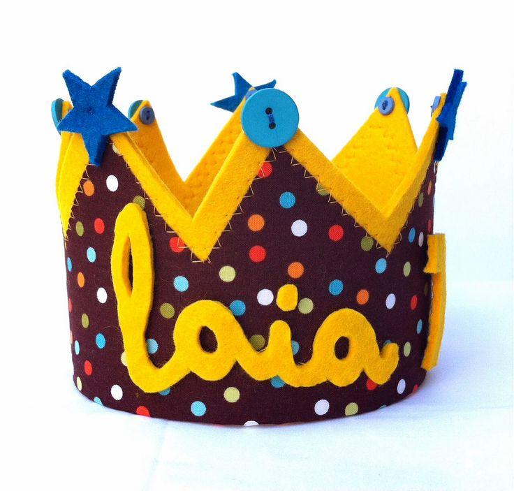 Corona personalizada#la mama les ven