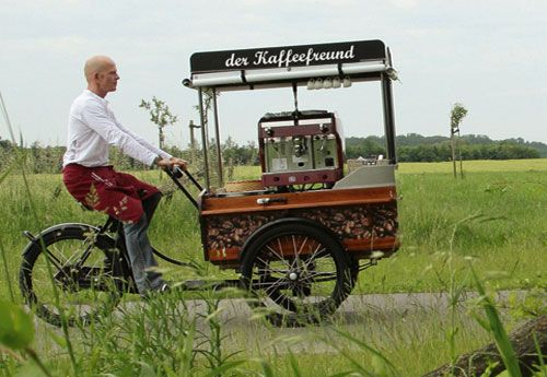 Bike coffee shop, Food bikes et restaurants mobiles, des alternatives aux food trucks