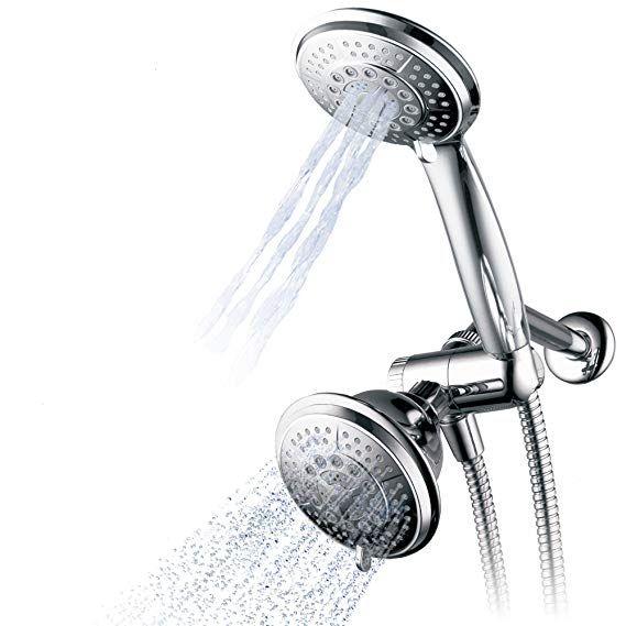 Hydroluxe 1433 Handheld Showerhead Rain Shower Combo High