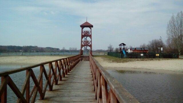 Wieża ♖ ♜  #zalew #Koprzywnica #świętokrzyskie #Polska