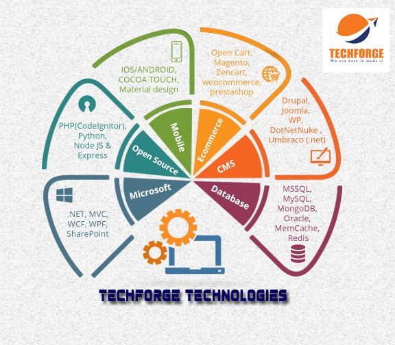 Techforge Software Company In Salem Mobile Web Design