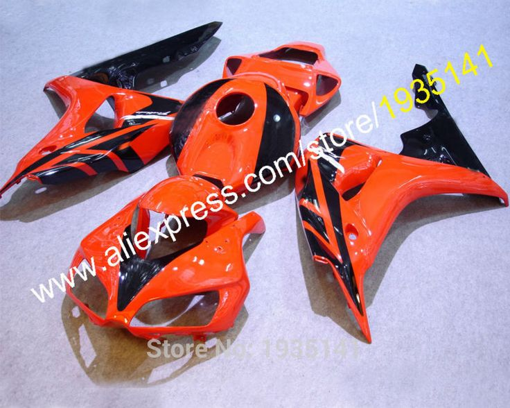 Hot Sales,Orange black For Honda 2006 2007 CBR1000RR 06 07