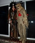 Witch Doctor and Voodoo Doll Couples Costume - 2014 Halloween Costume Contest