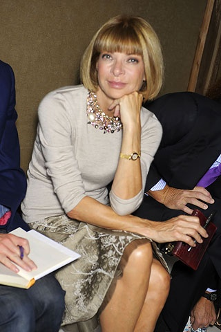 Anna Wintor. the godmother of fashion!