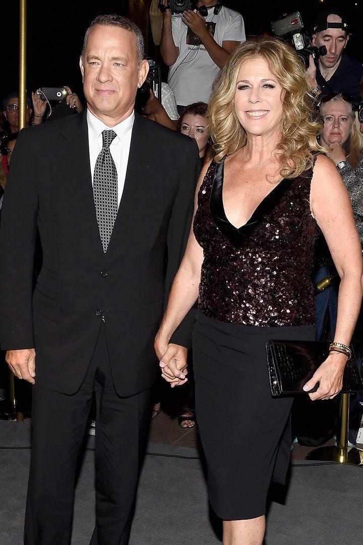 Tom Hanks and Rita Wilson Make 2 Lovely Appearances All in 1 Night