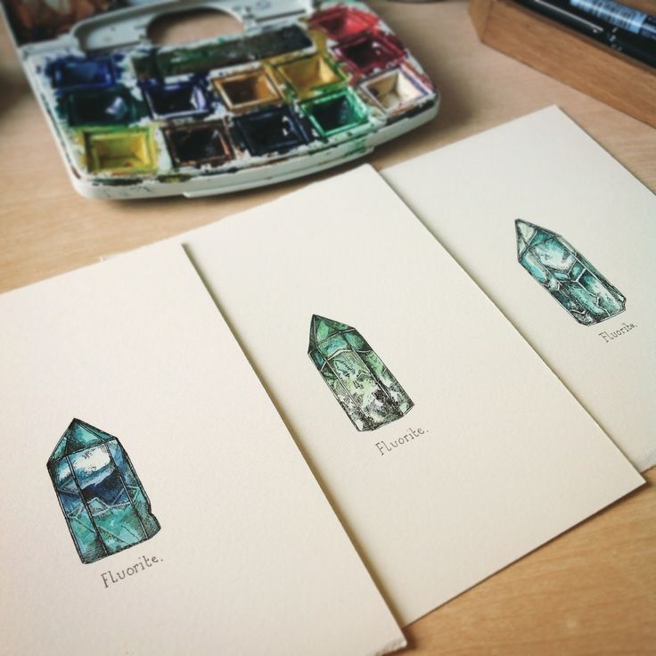 Crystal Watercolours