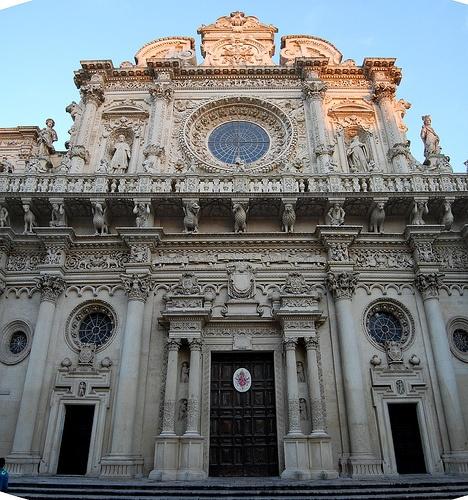Basilica di Santa Croce, Lecce.
