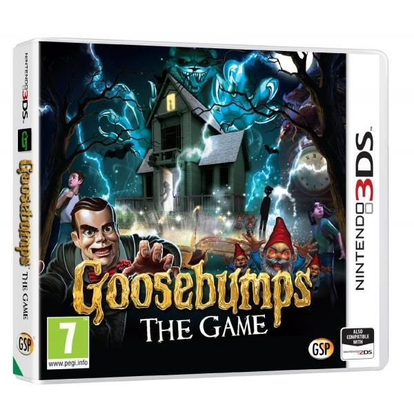 Goosebumps Game 3DS | http://gamesactions.com shares #new #latest #videogames #games for #pc #psp #ps3 #wii #xbox #nintendo #3ds