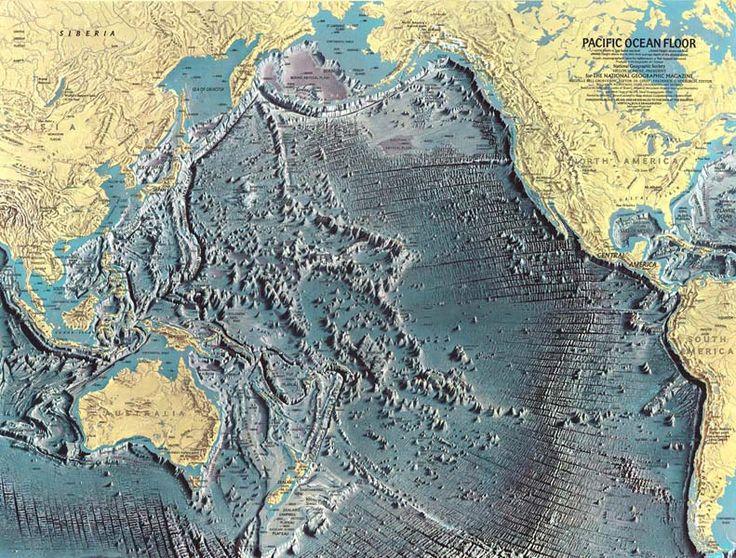 Pacific ocean floor map ca 1969 for Floor 5 map swordburst 2