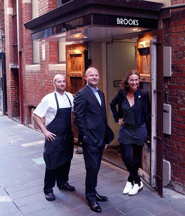 'Brooks', 115-117 Collins St, CBD (03 9001 8755).  Restaurant review   Gourmet Traveller