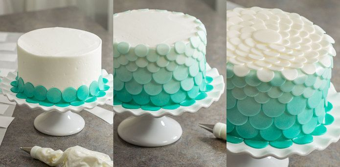 How-to Make an Under the Sea Mermaid & Coral Cake - Cakes.com