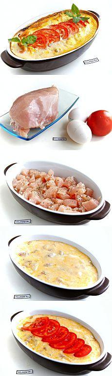 Нежная запеканка из куриного филе - cытно, вкусно и просто - Простые рецепты Овкусе.ру