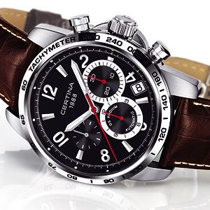 Pre-Basel 2008 – Certina Podium DS, A Podium Finish Every Time