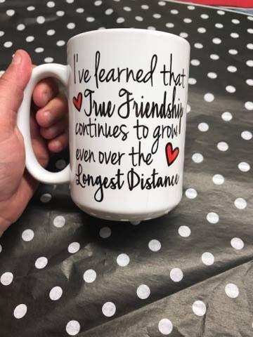 Long distance gift long distance mug Friendship gift