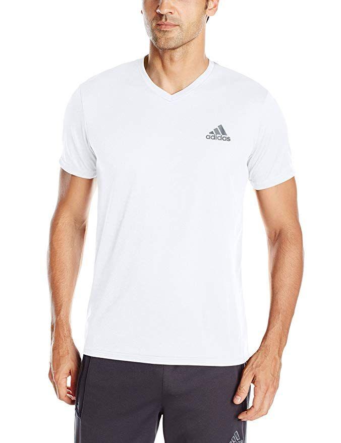 adidas v neck t shirts