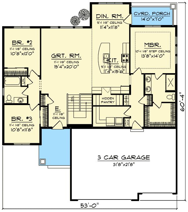 17 best ideas about open floor concept on pinterest open for Split level open floor plan