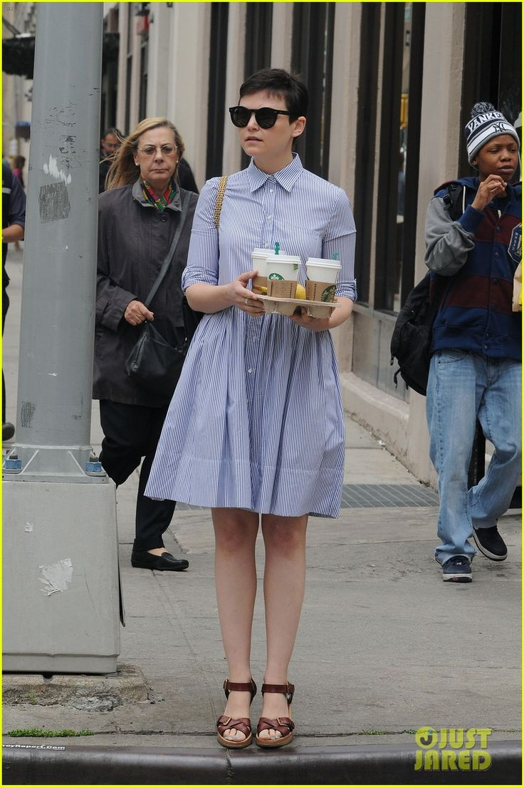 Georgina haig filming once upon a time 06 full size pictures to pin on - Ginnifer Goodwin Adorable A Line Skirt Find This Pin And More On Once Upon A Time