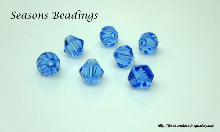 Excited to share the latest addition to my #etsy shop: 50 Translucent Light Blue 6mm Crystal Bicone Beads - Free Shipping to Canada http://etsy.me/2Dh18ID #supplies #blue #bicone #jewelrymaking #crystal #bead #crystalbead