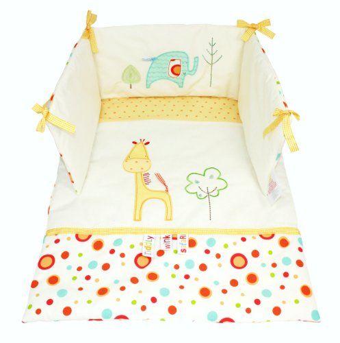 Lollipop Lane Tiddly Wink Safari Set Gitterbett-Quiltdecke und Schutzpolster Lollipop Lane http://www.amazon.de/dp/B002AOJV8G/ref=cm_sw_r_pi_dp_0WjDub0DRP19J