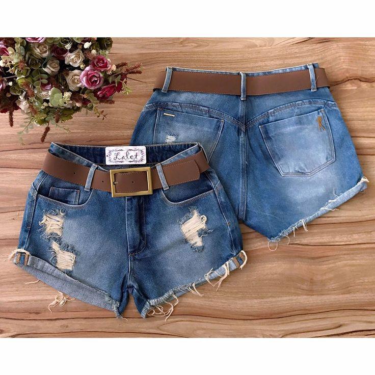 REPOSIÇÃO do nosso shortinho queridinho! 🍂 • Short jeans boyfriend (acompanha cinto) 34 ao 42 - R$: 99,00. DISPONÍVEL NAS DUAS LOJAS E SITE.  Apenas varejo.  Vendas online através do site: 💻 www.lalet.com.br (Link clicável na bio) Pagamento ↠ Cartão ou boleto.  Vendas Whatsapp: ✆ (62) 8630-2511 - Thais ↠ Depósito ou transferência.  E-mail: laletloja@gmail.com  Tel fixo Estação: ☏ (62) 3291-0640 Tel fixo Marista: ☏ (62) 3093-8360 • Horário de funcionamento da loja da Estação Goiânia: Terça…