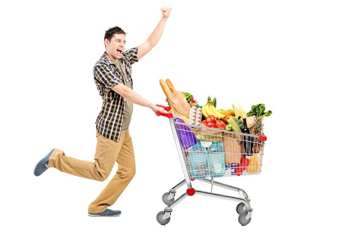 Grocery Shopping in mycommunitycart