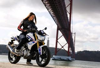 The All-New BMW G 310 R is a cleanly styled motorcycle, sleek body panels left uncluttered by excessive graphics.