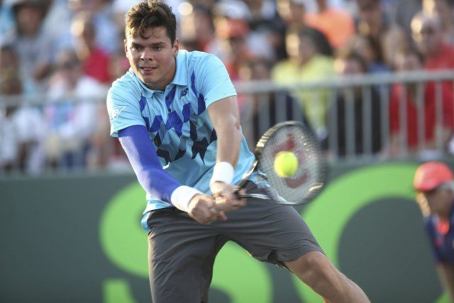 Milos Raonic (Photo AP)