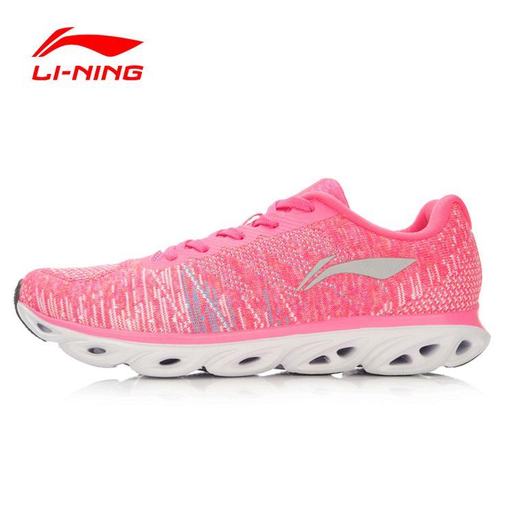 Li-Ning Women's Light Running Shoes Woven Li-Ning ARC Breathable Sneakers Cushioning Sports Shoes Li-Ning ARHL034 XYP441