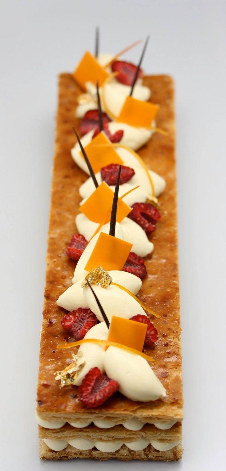 #dessert #sfoglia #fragola