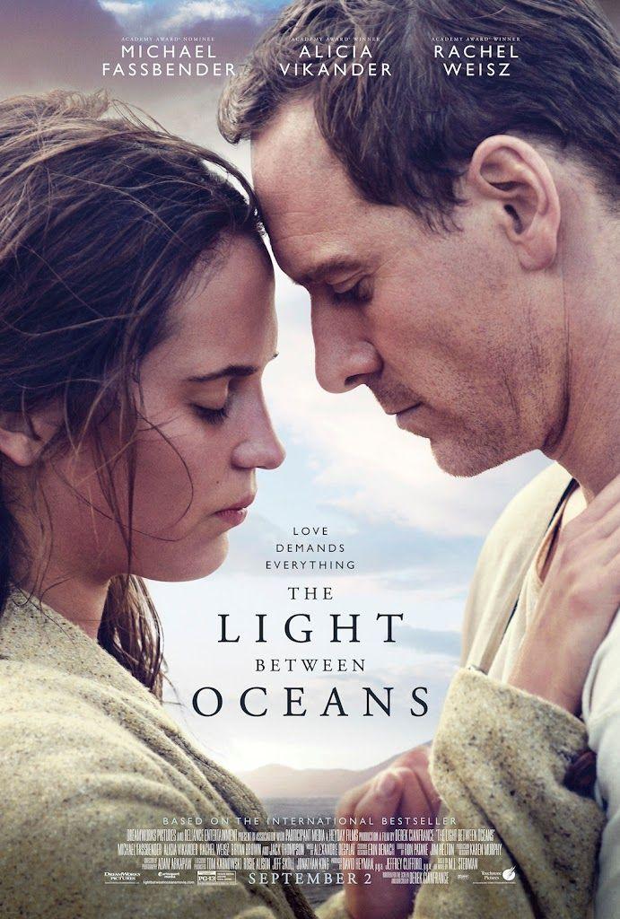 THE LIGHT BETWEEN OCEANS movie poster No.1