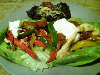 Specific Carbohydrate Diet For Life: Chicken Fajita Lettuce Wraps