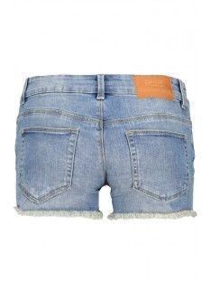 onlcoral sl. destroy dnm shorts akm 15138765 only korte broek medium blue denim