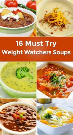 16 Must Try Weight Watchers Soups // make big batches to eat and take to work throughout the week #healthy #foodprep