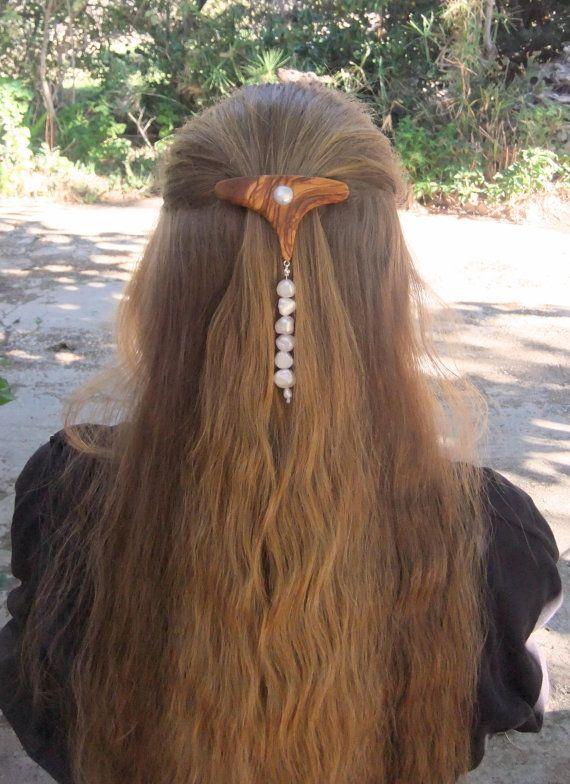 Fashion Week  Hair Barrette hand made from by ellenisworkshop