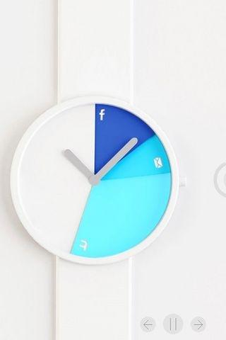 Digital Down Time Watch